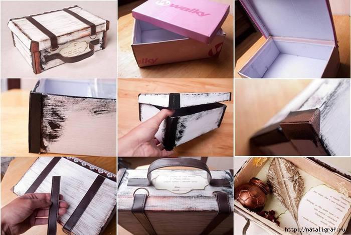 Что сделать из старой коробки своими руками