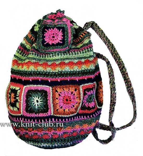 Для вязания сумки вам