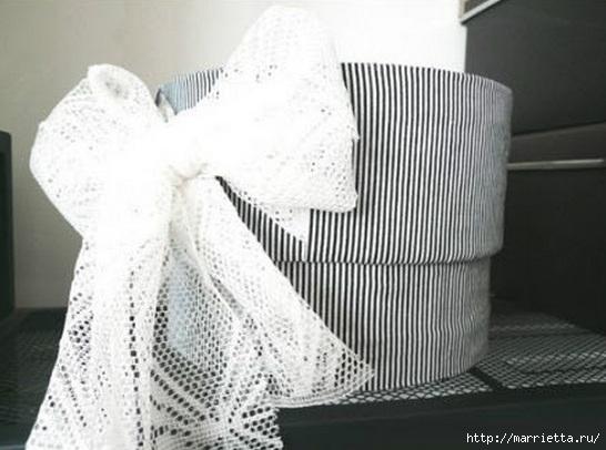 Из картона. Круглая коробочка для рукоделия (7) (546x406, 116Kb)
