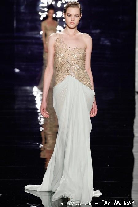 large золотое с белым платье со складкой (450x675, 134Kb)