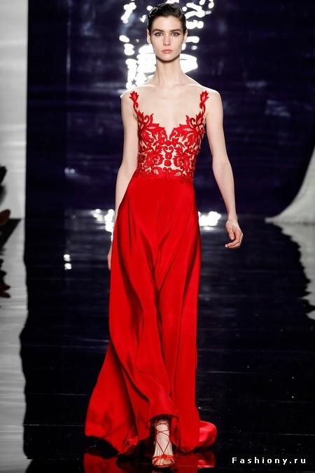 large красное платье с кружевами (450x675, 59Kb)