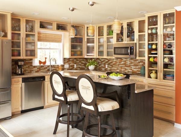 Удобный и красивый дизайн кухни