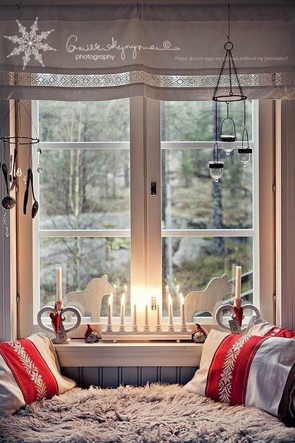 Фото на окне идеи
