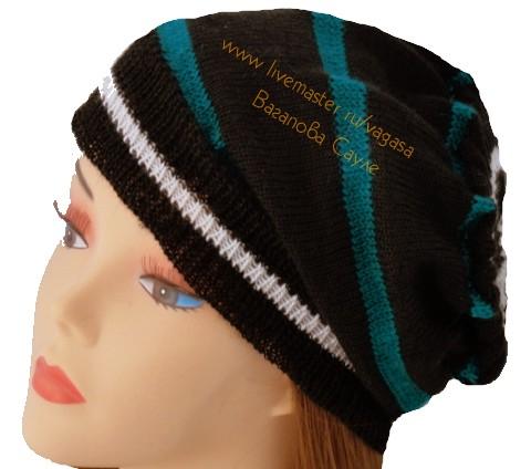 шапочка вязанная купить