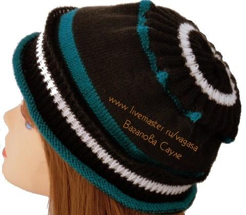 вязаная шапка купить