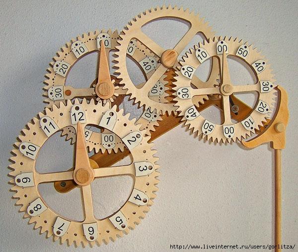 Изготовление механизма часов своими руками 4