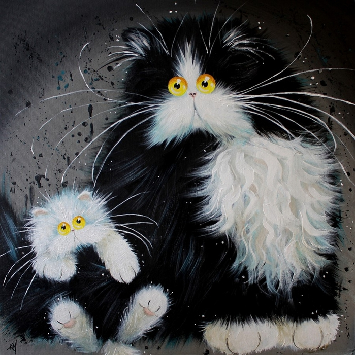 Tailof2Kitties (699x700, 371Kb)