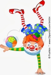 Превью 94054-Clown-Balanced-On-One-Hand-With-A-Ball-On-An-Arm-Poster-Art-Print (307x450, 75Kb)