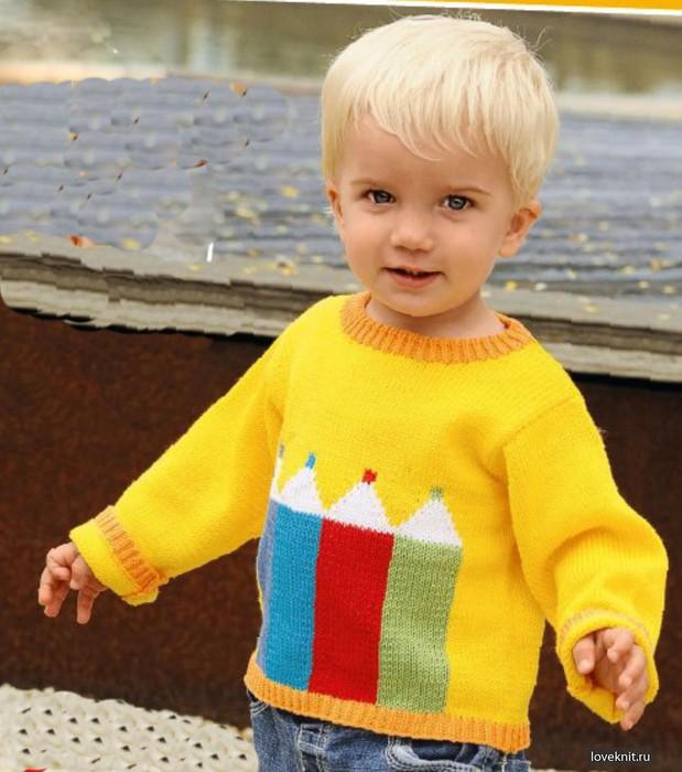 Детский Вязанный Джемпер