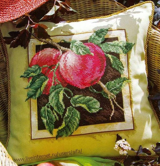 вышивка груши - Самое