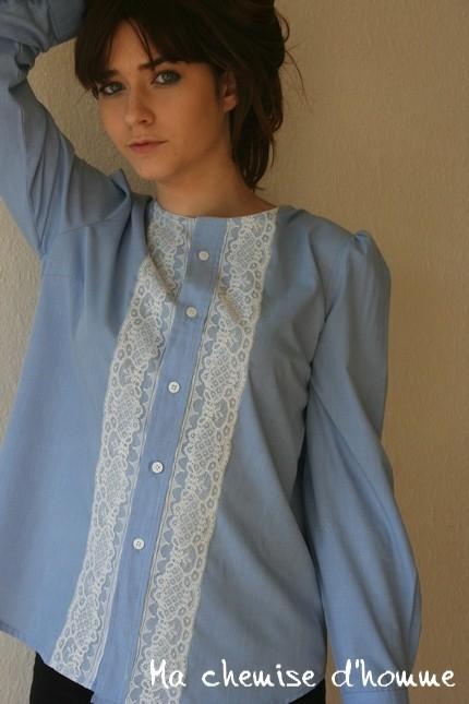 Красивые Блузки Из Мужских Рубашек Фото Пошаговая