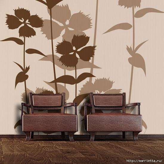 Сиреневый цвет в интерьере. Стильный дизайн (2) (550x550, 175Kb)