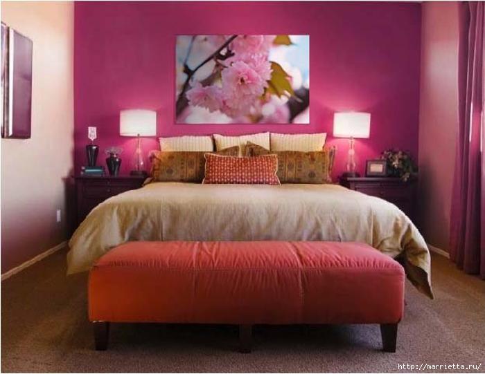 Сиреневый цвет в интерьере. Стильный дизайн (15) (700x541, 149Kb)