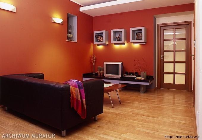 Сиреневый цвет в интерьере. Стильный дизайн (37) (680x472, 132Kb)