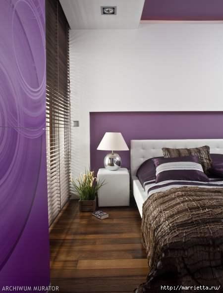 Сиреневый цвет в интерьере. Стильный дизайн (70) (450x592, 90Kb)
