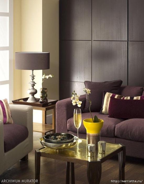 Сиреневый цвет в интерьере. Стильный дизайн (71) (549x700, 222Kb)