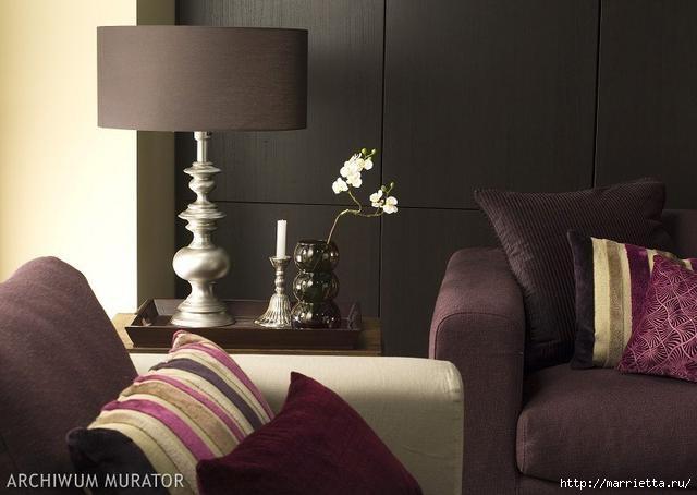 Сиреневый цвет в интерьере. Стильный дизайн (73) (640x454, 104Kb)