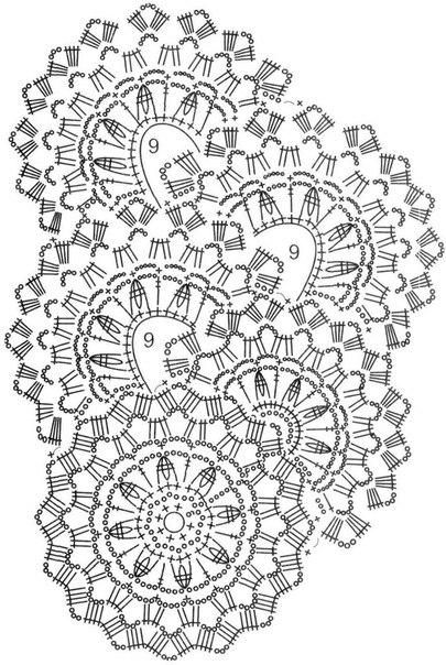 вяжем шарф ленточным кружевом5 (405x604, 209Kb)