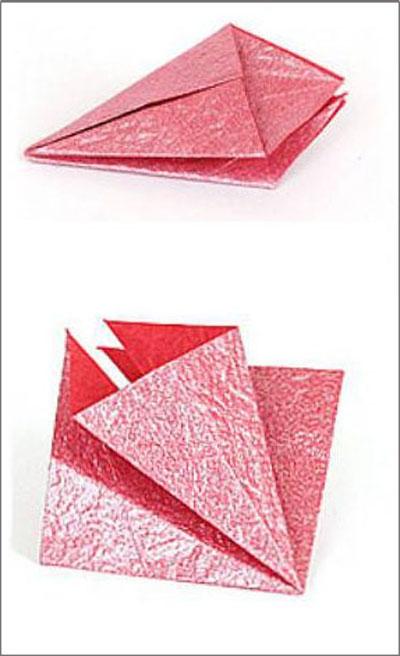 Коробка шоколадок в подарок. Обертка-оригами для конфет  (2) (400x656, 122Kb)
