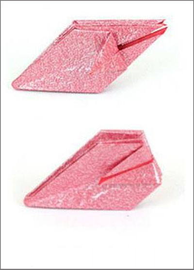 Коробка шоколадок в подарок. Обертка-оригами для конфет  (4) (400x558, 78Kb)