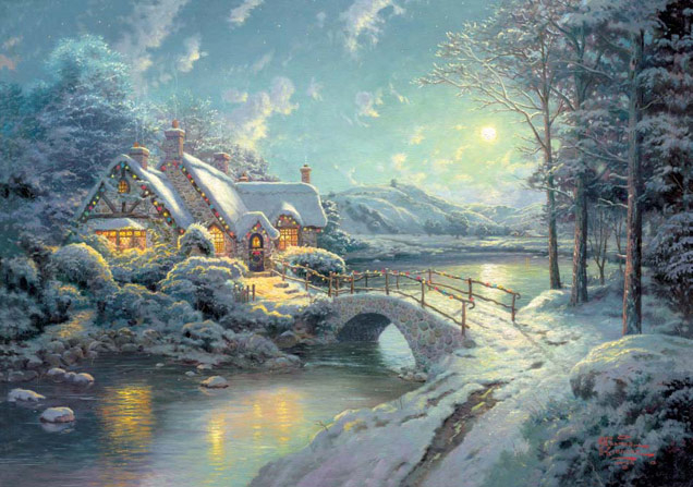 thomas-kinkade-village-00 (636x447, 268Kb)