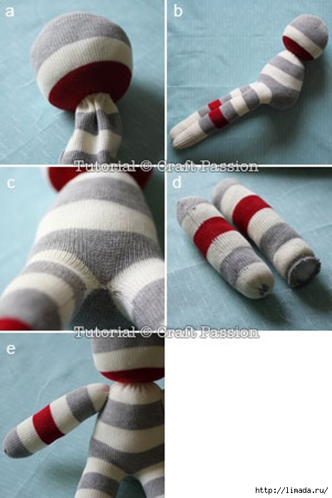 sew-sock-lion-4 (466x700, 168Kb)