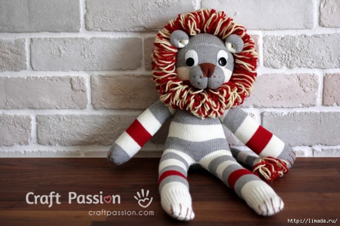 sock-lion-tutorial (700x466, 233Kb)