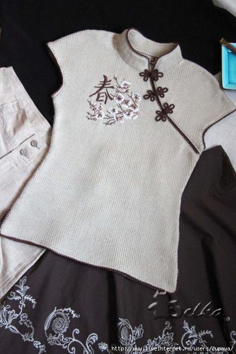 """针织上衣:"""" 东方韵 """" - maomao - 我随心动"""