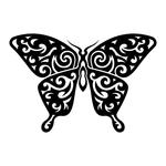 Превью butterfly stencil (3) (700x700, 130Kb)