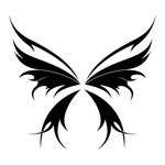 Превью butterfly stencil (5) (700x700, 89Kb)