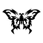 Превью butterfly stencil (8) (700x700, 84Kb)