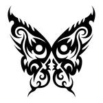 Превью butterfly stencil (10) (700x700, 128Kb)