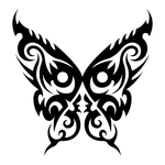 ������ butterfly stencil (10) (700x700, 128Kb)