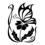 ������ butterfly stencil (16) (700x700, 122Kb)