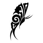 ������ butterfly stencil (26) (700x700, 63Kb)
