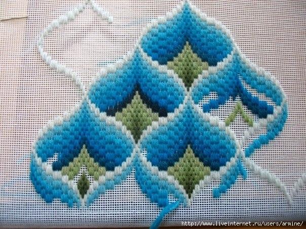 вышивка техника вышивки крестом схемы
