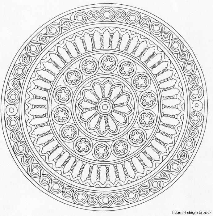 Mandala 64 (690x700, 447Kb)