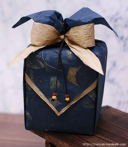 Упаковка подарков для мужчин. Мастер-классы (22) (492x567, 149Kb)
