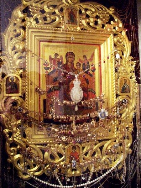 Чудотворная икона Божией (450x600, 368Kb)