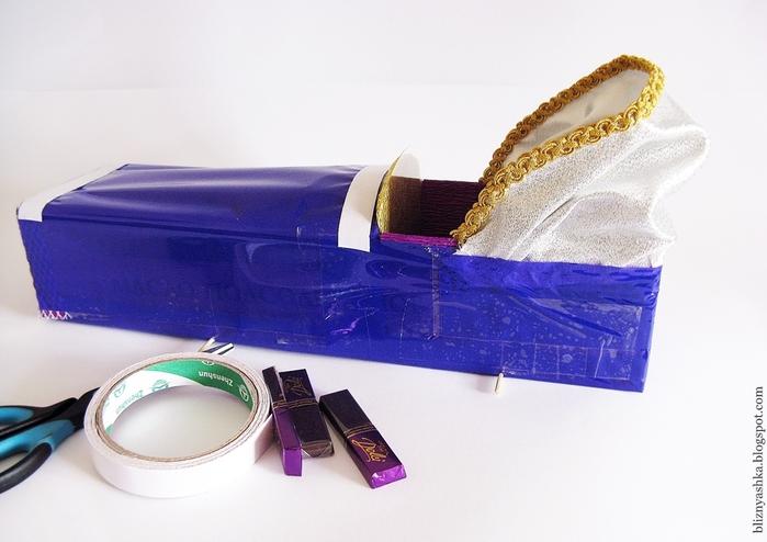 машинка из конфет мастер-класс (10) (700x494, 219Kb)