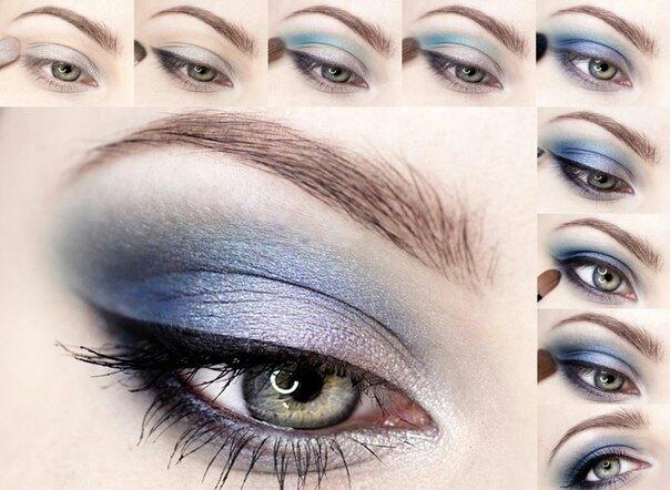Часть 19 - схемы макияжа в