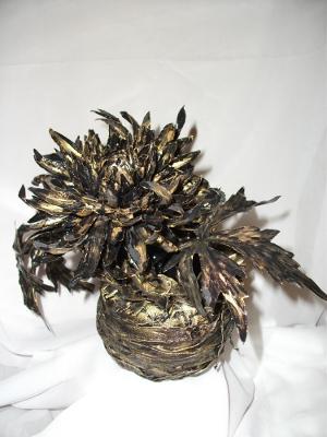 ваза и цветок (300x400, 117Kb)
