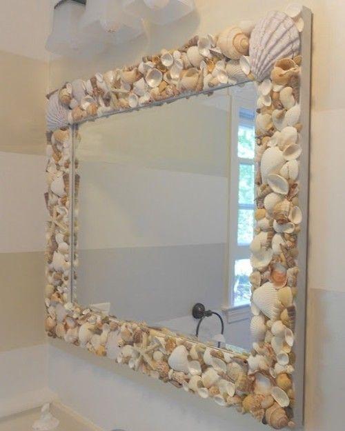 Как красиво сделать рамку а в ней зеркало