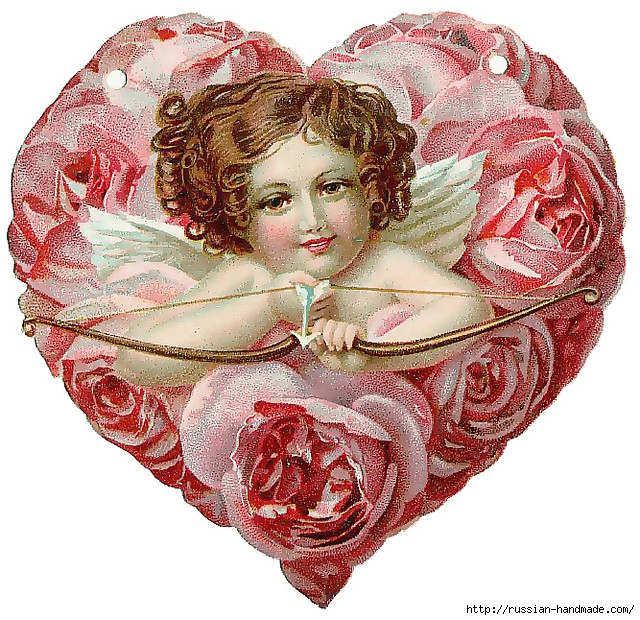 Винтажные картинки ко дню Святого Валентина (7) (640x620, 405Kb)