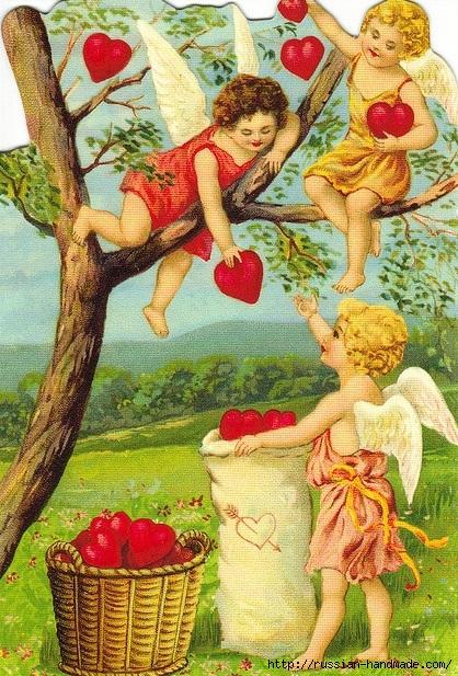 Винтажные картинки ко дню Святого Валентина (11) (418x617, 336Kb)