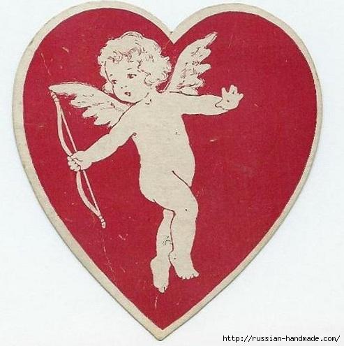 Винтажные картинки ко дню Святого Валентина (15) (493x495, 141Kb)