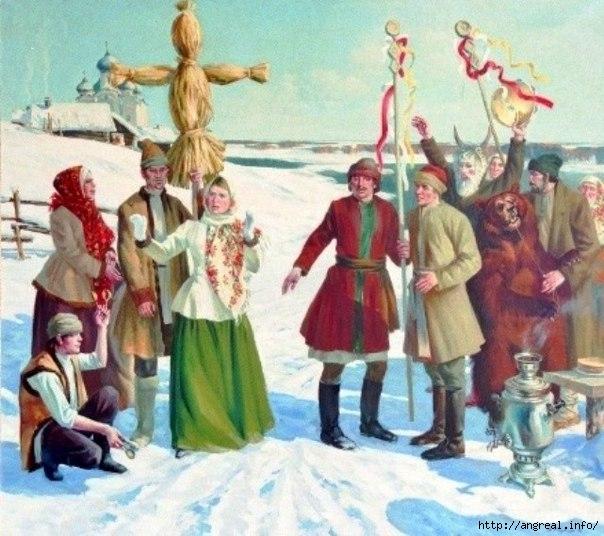 7 лиц русской масленицы