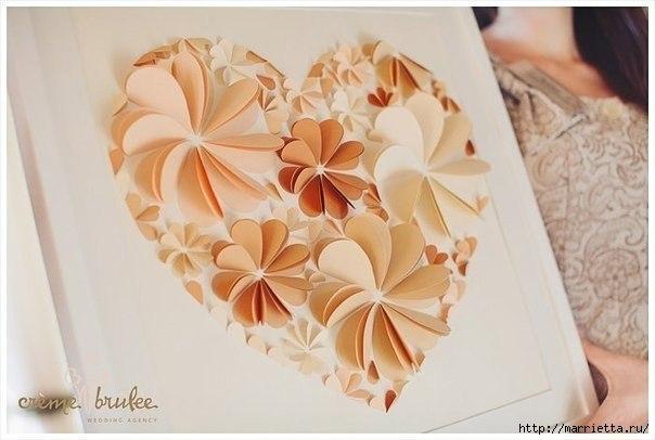 сердечные панно из бумаги (7) (604x406, 111Kb)