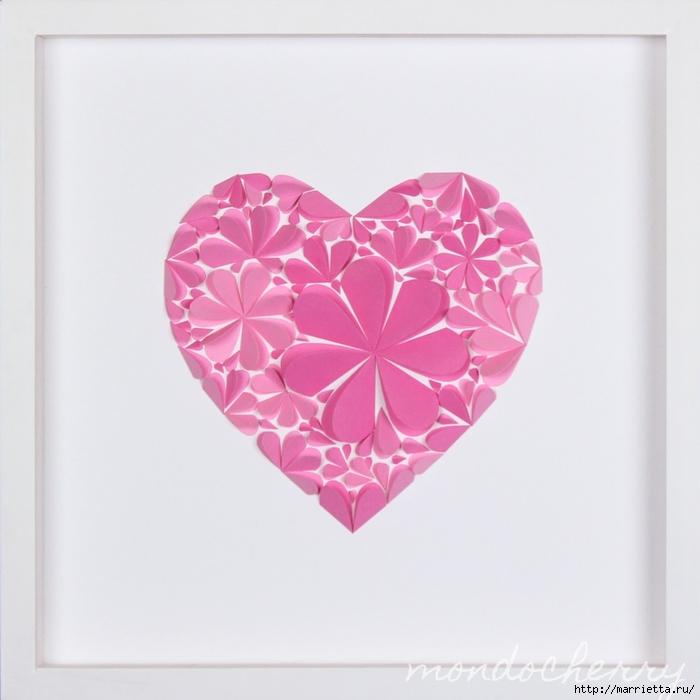 Сердечко своими руками ко дню валентина