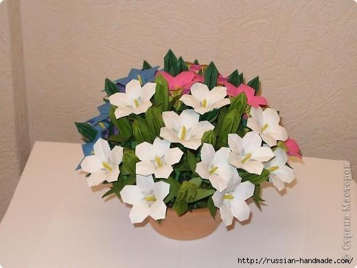 весенний букет цветов в технике оригами (2) (520x390, 108Kb)